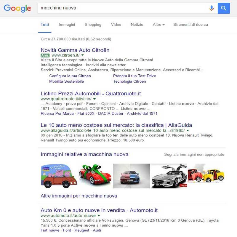 Immagini siti web:risultati di ricerca