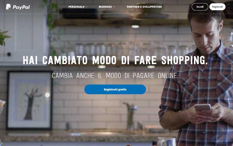 PayPal: sito