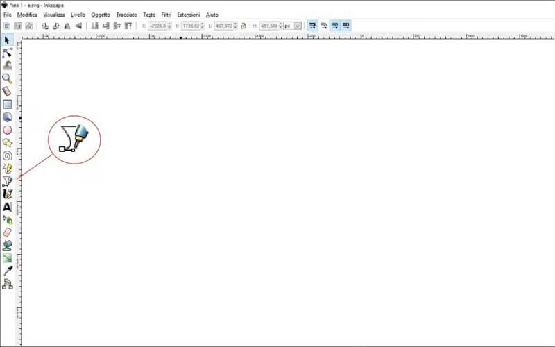 Carta intestata: Inkscape, tracciati